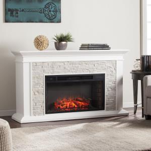 candore-heights-stone-fireplace-with-white-bookcases