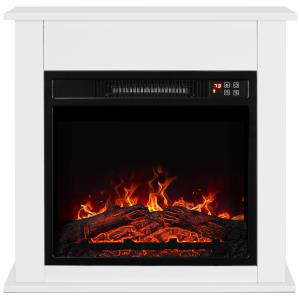 white-fireplace-electric-heaters